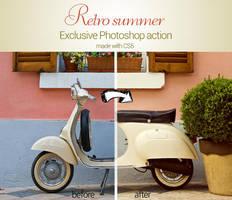 Retro Summer Photoshop Action by piximi