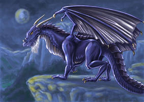 World of warcraft drake by psychee-ange