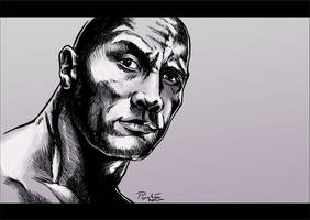 Tribute to Dwayne Johnson by psychee-ange