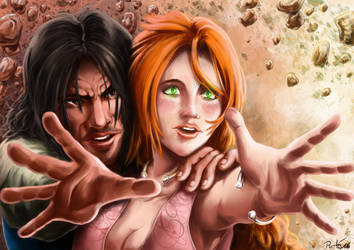 Jawaad et Lisa by psychee-ange
