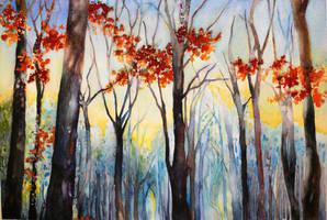 Gump's Forest by Vennatrix