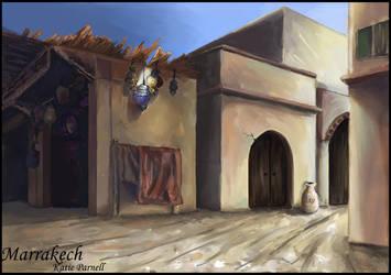 City Street Concept: Marrakech by Tathewak