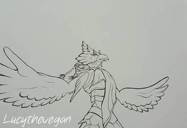 Revali   Zelda Breath of the Wild by lucythevegan