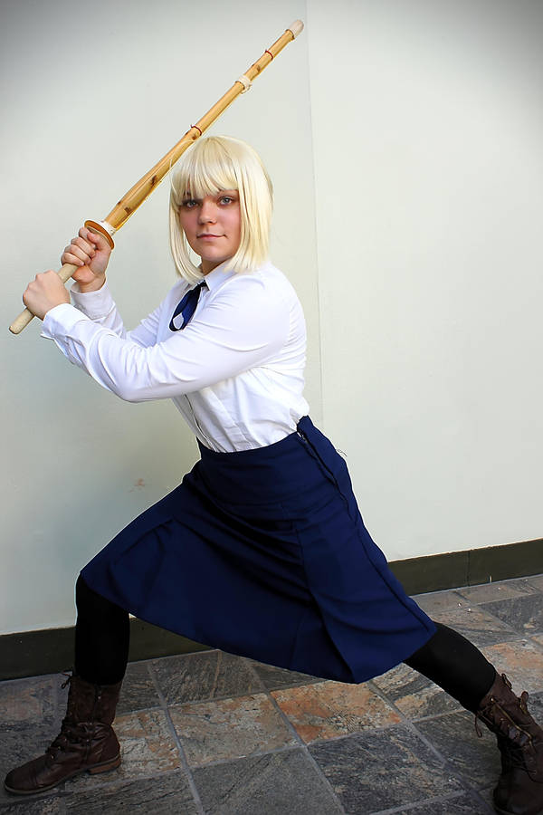Saber Cosplay: Ready to fight? by HatterSisters