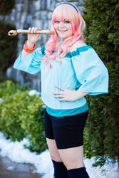 Sheryl Nome Cosplay: Star Date by HatterSisters