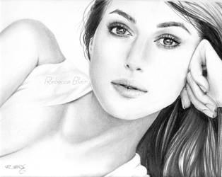 Keira Knightley by R-becca