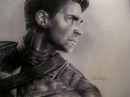 CAPTAIN AMERICA by R-becca