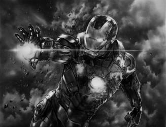 Iron Man by R-becca