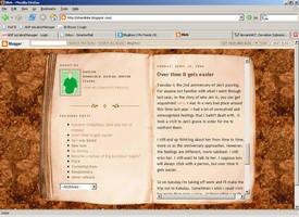Journal Blog Layout by shardinite