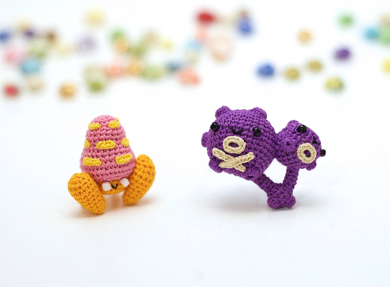 Weezing and Parasect by TheBittiestBaubles