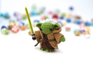 Yoda Amigurumi by TheBittiestBaubles