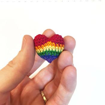 Rainbow Love, Rainbow PRIDE by TheBittiestBaubles