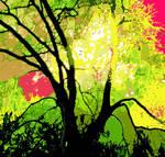Firework Tree by linandara