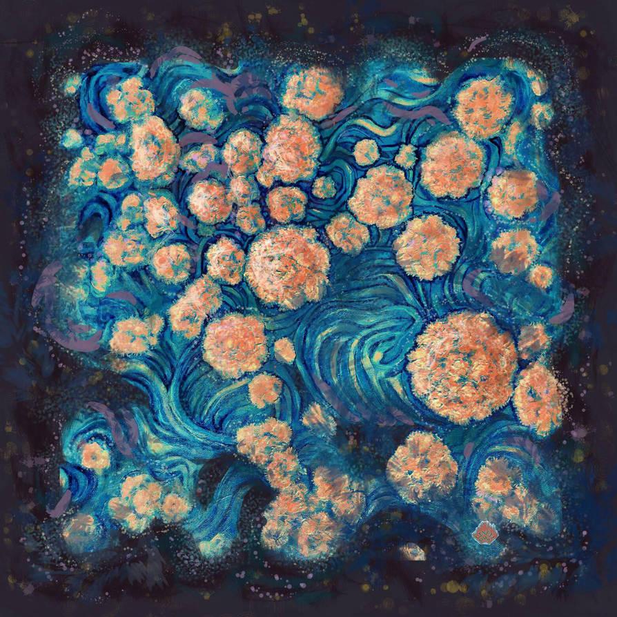 Mimosa Nebula  by linandara
