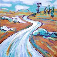 a road by linandara