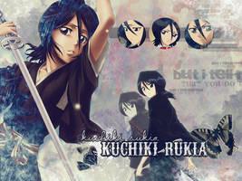 Kuchiki Rukia wallpaper by RollingStar89