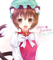 Happy Birthday KANE-NEKO by eleanorquinn