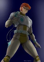 Captain Future by KrokoZero