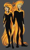 On Fire by Pen-umbra