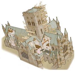Cathedral Builders - Cutaway by hesir