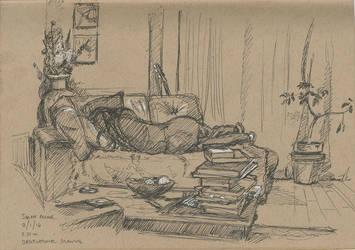 Sarah - Sleeping - 02-01-14 by hesir