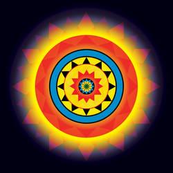 Electric Mandala by rccrandall