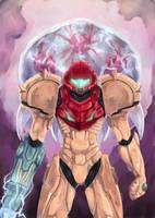 Metroid: Samus Aran by AtelierEdge