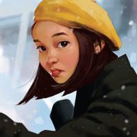 Snow by samuelyounart