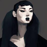 Goth by samuelyounart