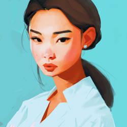 Whiteshirt by samuelyounart