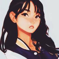Leader Jihyo by samuelyounart
