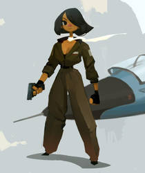 Aviator by samuelyounart