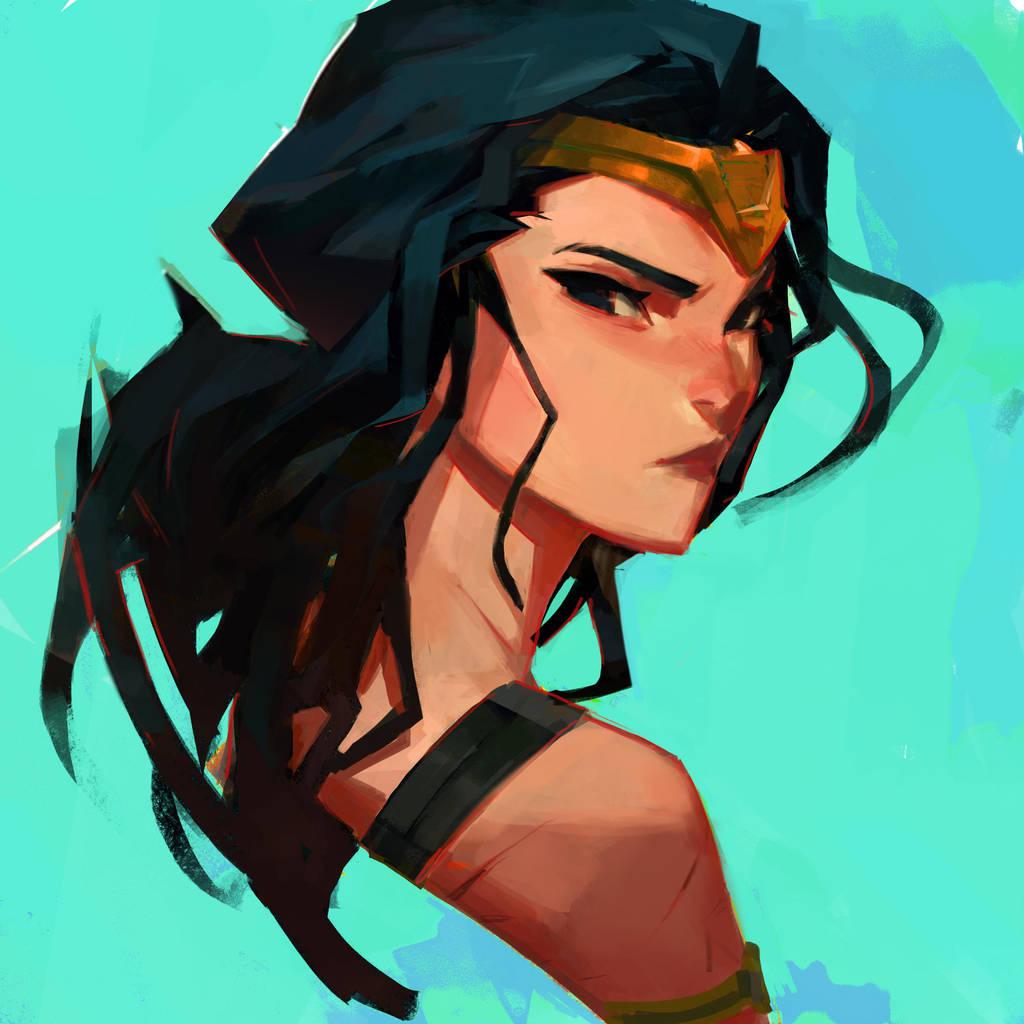 Wonder Woman by samuelyounart