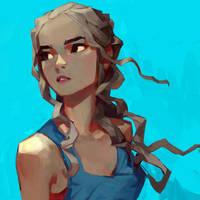 Daenerys by samuelyounart