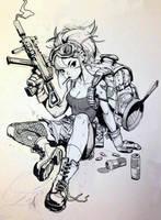 Gungirl2 by samuelyounart