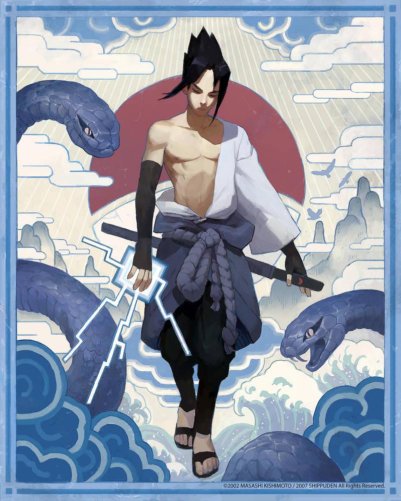 Sasuke by samuelyounart