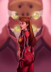 Asuka Langley by TimVithor