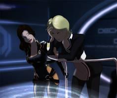 Mass Effect Miranda Nags by Badspot