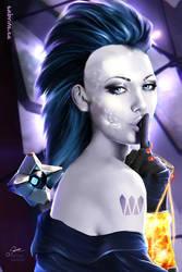 This is my Secret - Destiny Fan Art by Sabrine