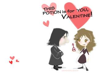 For you Valentine by usagistu