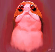 Porg by TheHaoWang