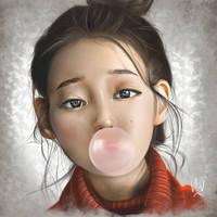 IU x Corel Painter by TheHaoWang