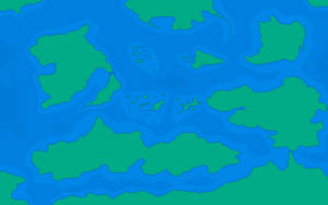 World map for a computer RPG by Kervala