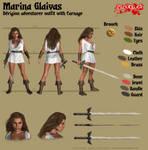 Marina Glaivas - Derigion adventurer outfit by Kervala
