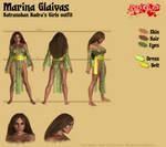 Marina Glaivas - Batranoban Badra's Girls outfit by Kervala