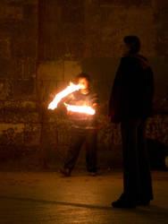 Fire Juggler by ba316z