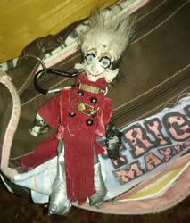 Vash Keychain Doll - front by Odinsdragondaughter