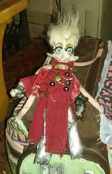 Vash Keychain Doll - Front 2 by Odinsdragondaughter