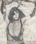 Paul Stanley by Odinsdragondaughter