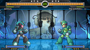 Bass And Megaman (Project Titan First look) by birdman91